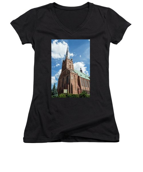 Cathedral Basilica Of St. James The Apostle, Szczecin A Women's V-Neck