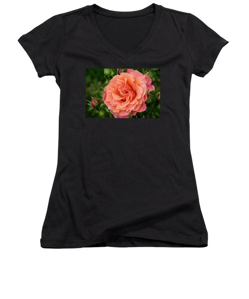 Caught In The Rain Women's V-Neck