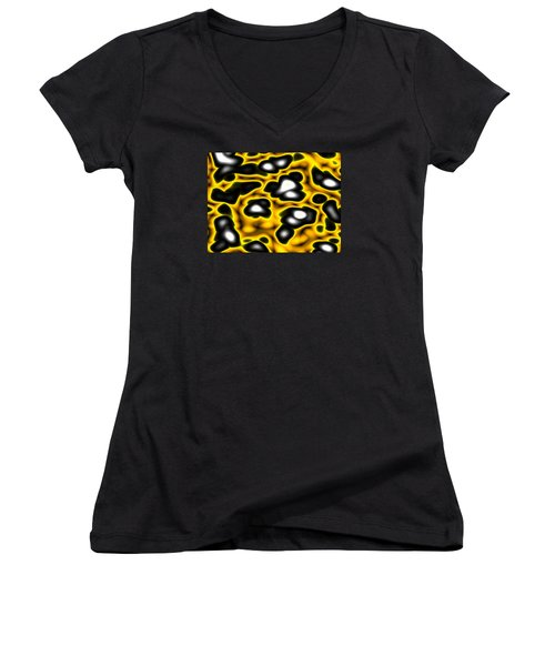 Caution Women's V-Neck T-Shirt