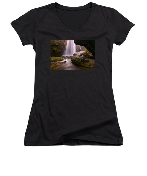 Cavern Of Dreams Women's V-Neck