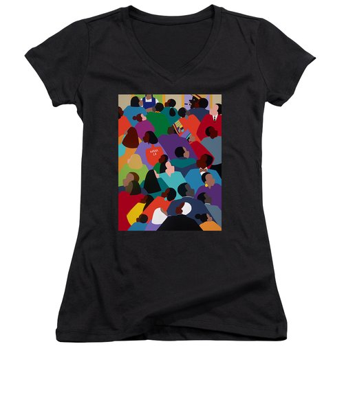 Celebration Maaa-la Women's V-Neck T-Shirt