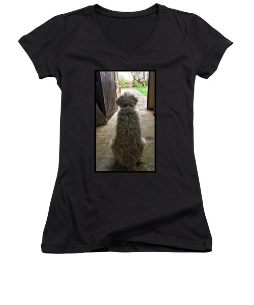 Charlie Dog Women's V-Neck