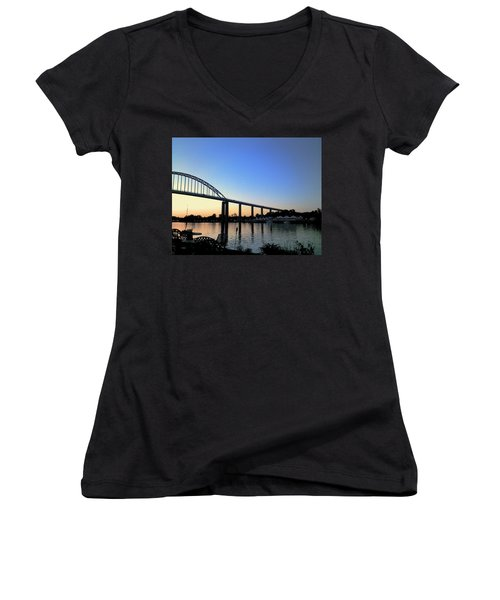 Chesapeake City Women's V-Neck
