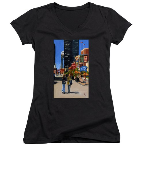 Chicago - Navy Pier Women's V-Neck