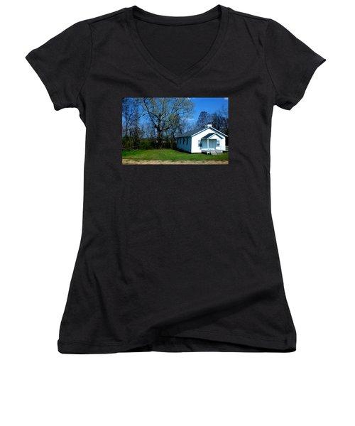 Church Highway 61 Women's V-Neck T-Shirt