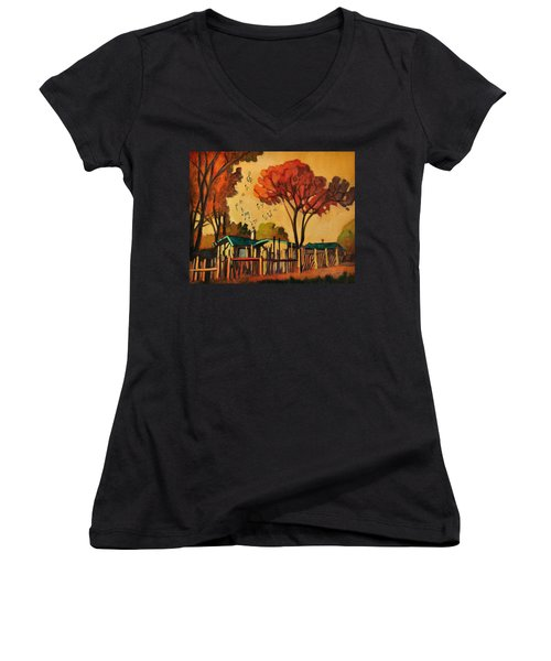 Cia's Music House Women's V-Neck