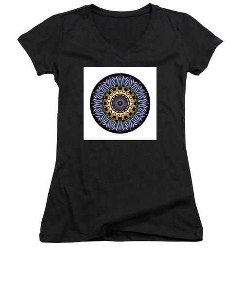 Circularium No 2641 Women's V-Neck T-Shirt