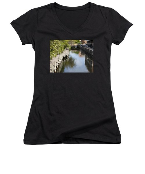 City Waterway Women's V-Neck (Athletic Fit)