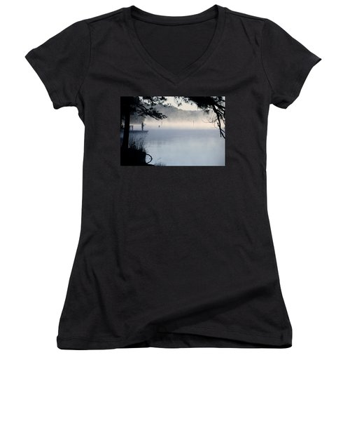 Calm Day Women's V-Neck T-Shirt