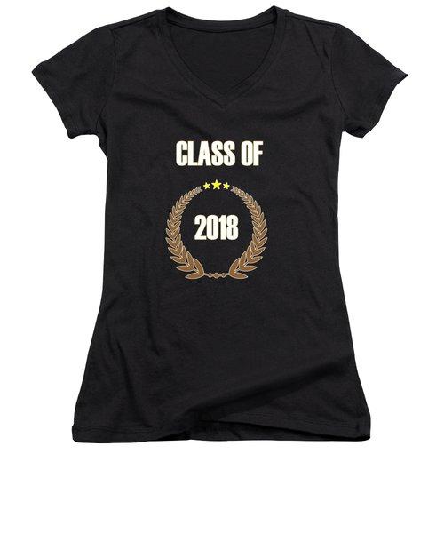 Class Of 2018 Women's V-Neck