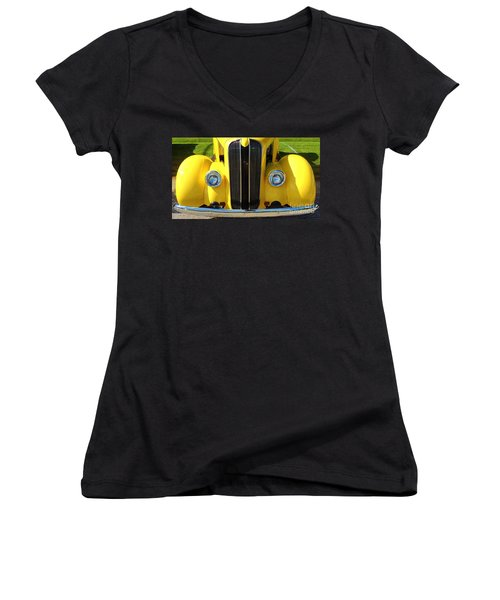 My Ride's Here Women's V-Neck (Athletic Fit)