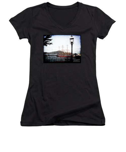 Clipper Ship Women's V-Neck