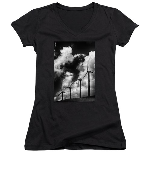 Cloud Blowers Women's V-Neck