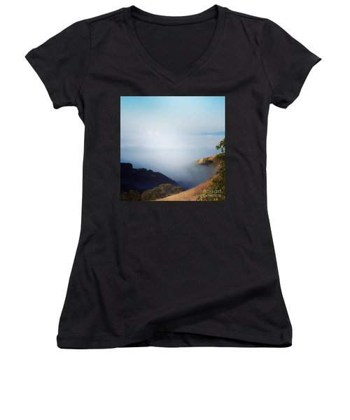 Coastal Fog Women's V-Neck