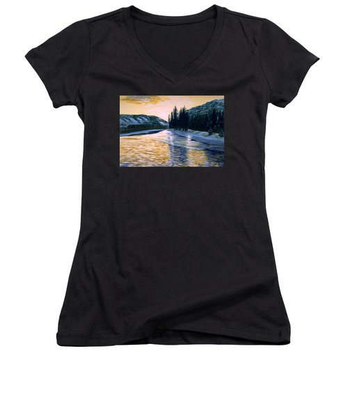 Cold Water Women's V-Neck