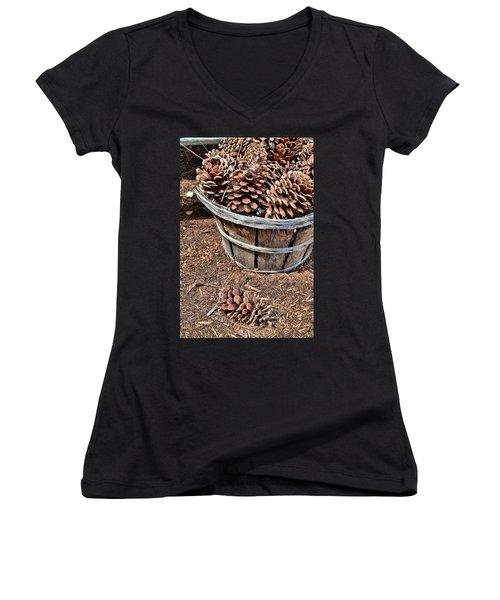 Collectible Women's V-Neck T-Shirt (Junior Cut) by JAMART Photography