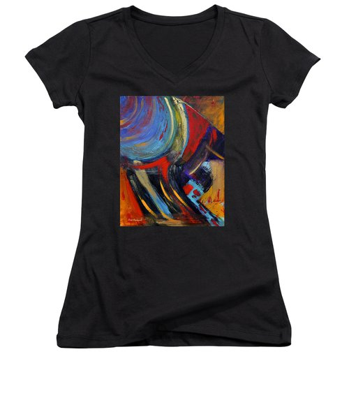 Colors For Emerson Women's V-Neck