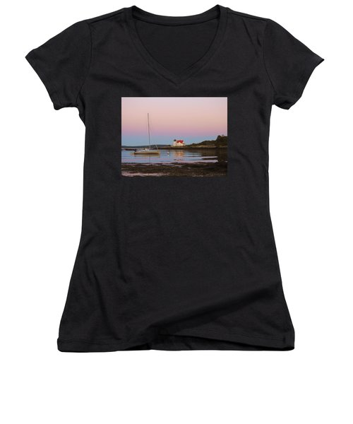 Colors Of Morning Women's V-Neck