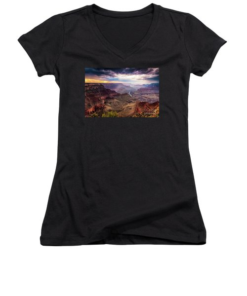Colors Of The Canyon Women's V-Neck
