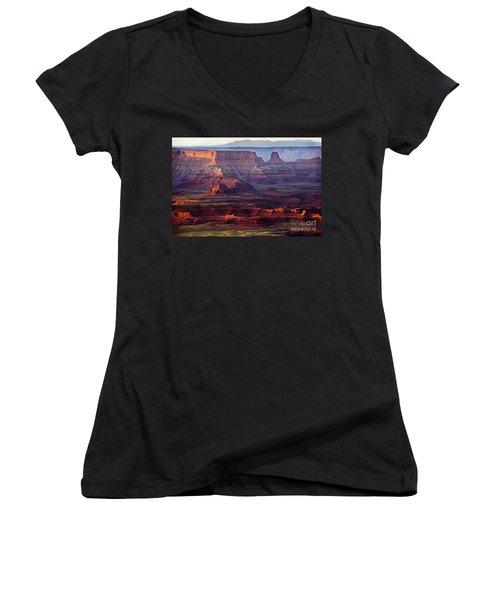 Colors Of Utah Women's V-Neck T-Shirt