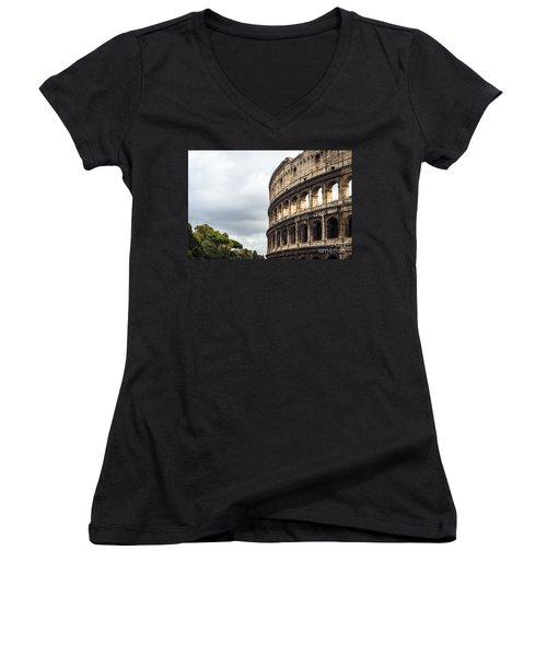Colosseum Closeup Women's V-Neck