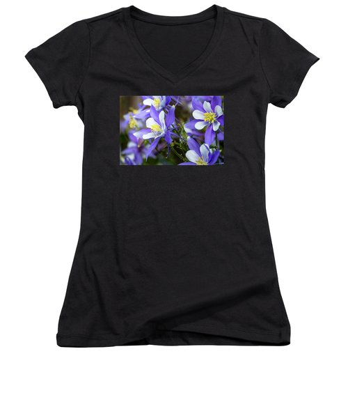 Columbines Women's V-Neck