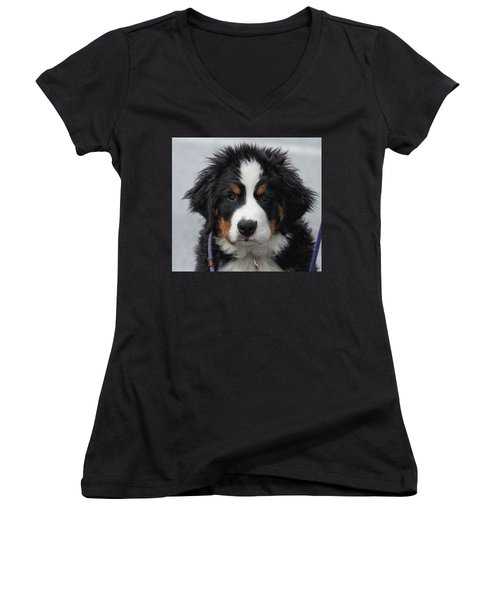 Come Play With Me Women's V-Neck T-Shirt