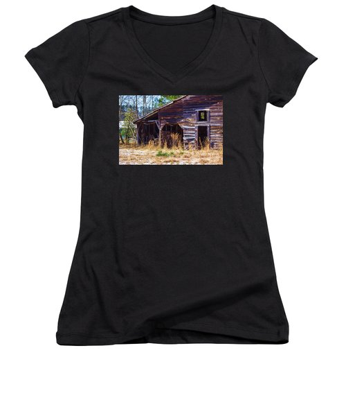 Coming Apart With Character Barn Women's V-Neck