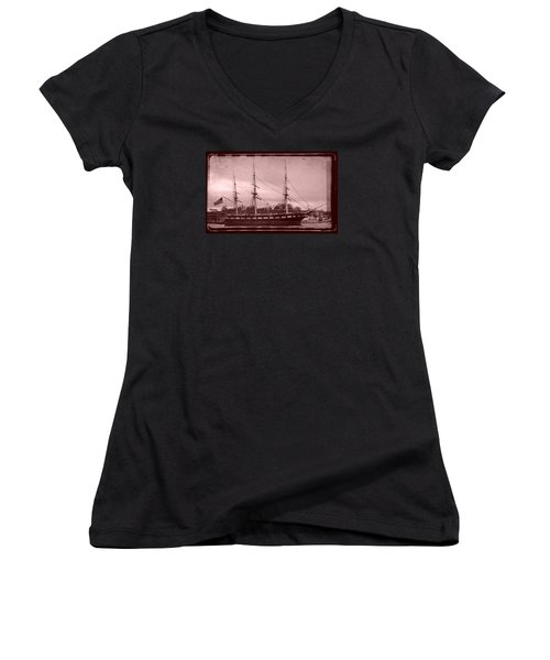 Constellation Returns - Old Photo Look Women's V-Neck T-Shirt