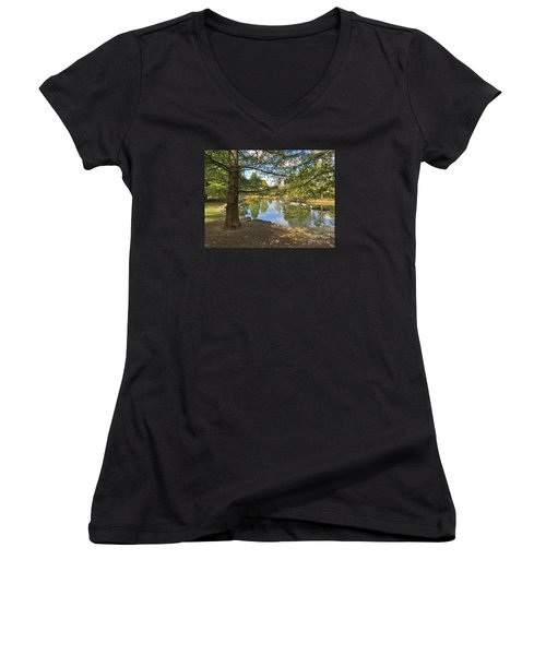 Contemplation Women's V-Neck T-Shirt