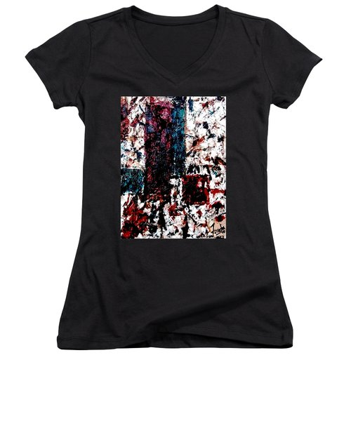Conversation  Women's V-Neck (Athletic Fit)