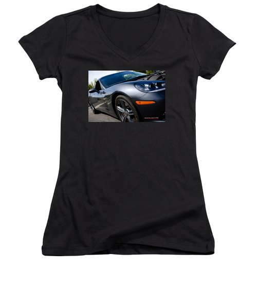 Corvette Racing Women's V-Neck