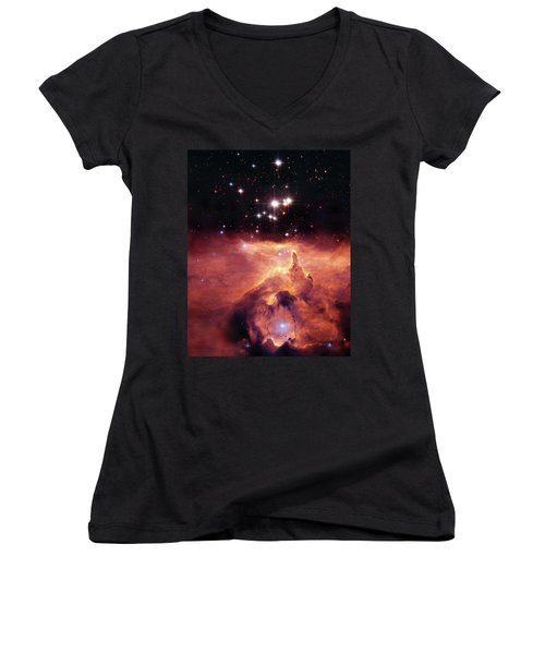 Cosmic Cave Women's V-Neck T-Shirt