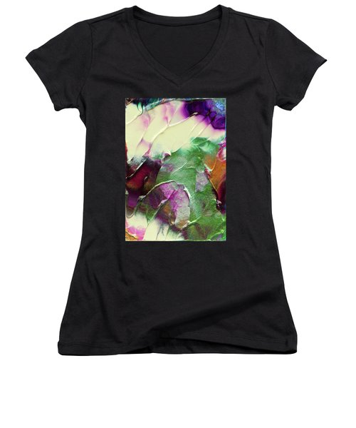 Cosmic Pearl Dust Women's V-Neck (Athletic Fit)