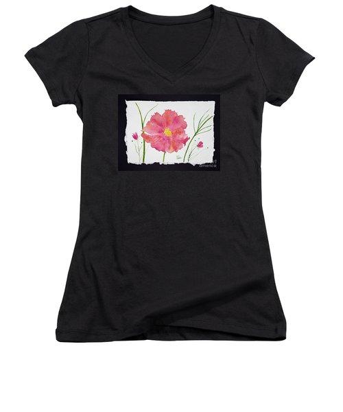 More Cosmos Women's V-Neck T-Shirt