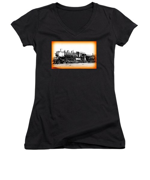 Crazy Train 2 Women's V-Neck (Athletic Fit)