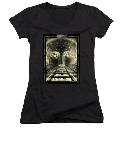 Crazy Train Women's V-Neck