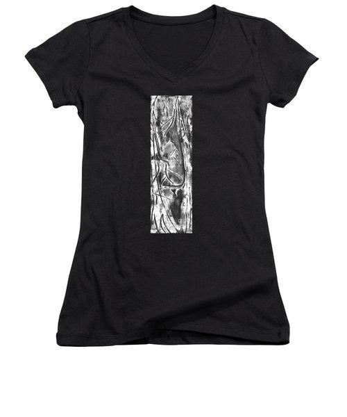 Creator Women's V-Neck T-Shirt (Junior Cut) by Carol Rashawnna Williams