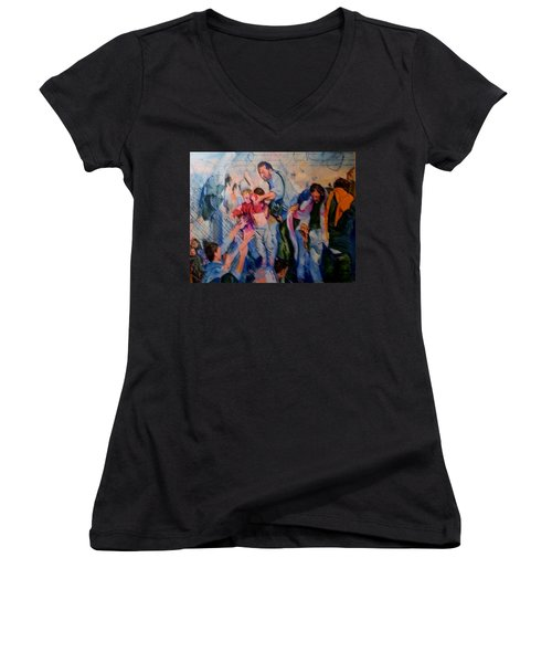Crisis, What Crisis ? Women's V-Neck T-Shirt