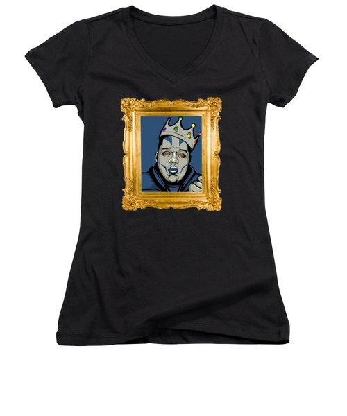 Crooklyn's Finest Women's V-Neck T-Shirt