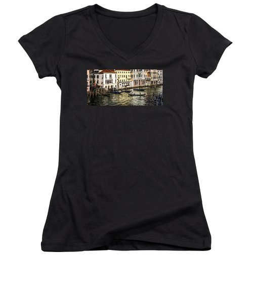 Crossing The Canal Women's V-Neck