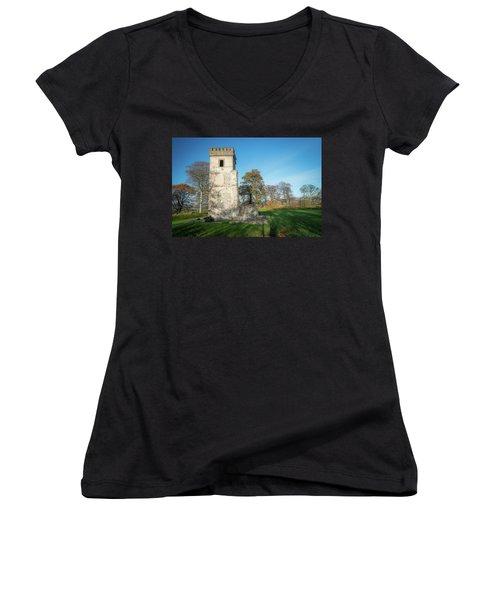 Cuchulains Castle Women's V-Neck T-Shirt