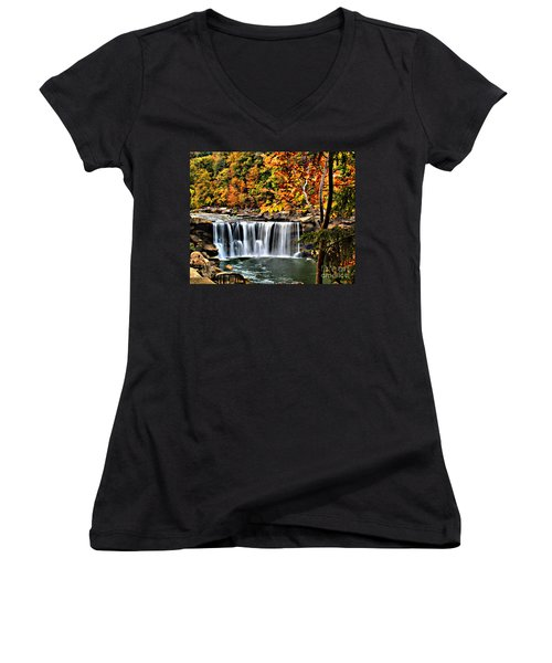 Cumberland Falls Women's V-Neck (Athletic Fit)