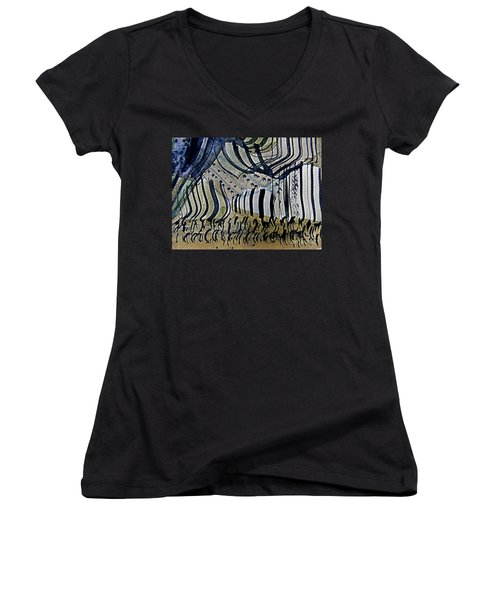 Curtain Call Women's V-Neck (Athletic Fit)