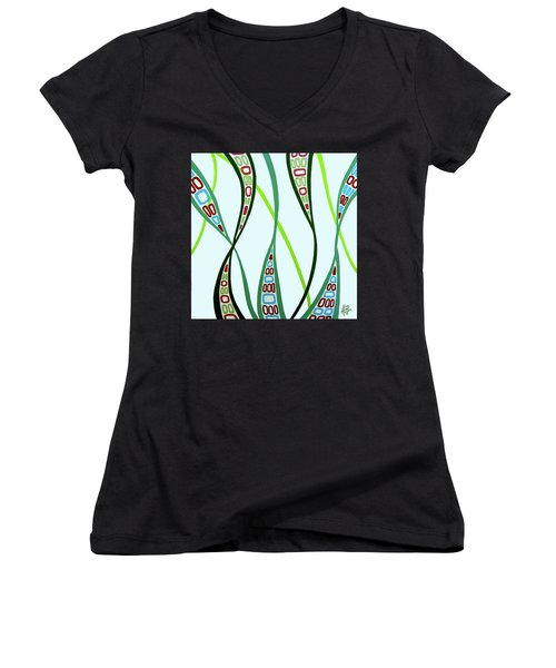 Curvaceous Women's V-Neck T-Shirt