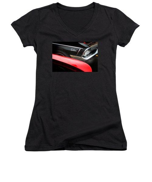 Cutlass Classic Women's V-Neck T-Shirt (Junior Cut) by Toni Hopper