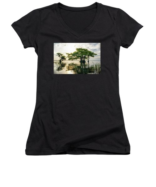 Cypress Bonsai Women's V-Neck