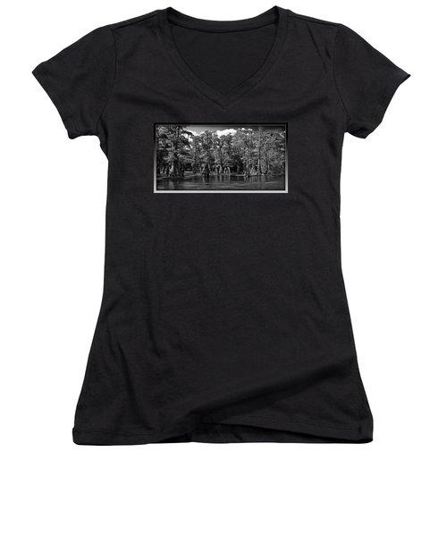 Cypress On The Suwannee Women's V-Neck