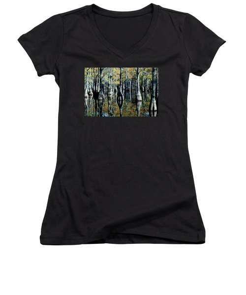 Cypress Reflections Women's V-Neck (Athletic Fit)