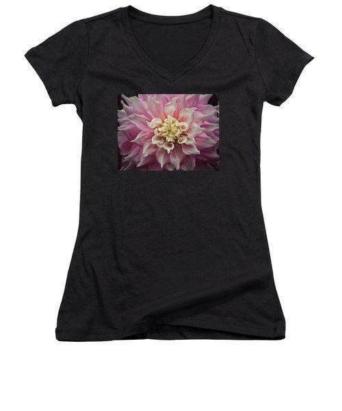 Dahlia Perfection Women's V-Neck T-Shirt